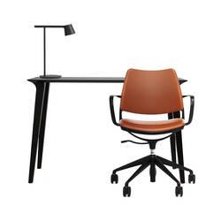 Pack Home Office Pack fauteuil GAS - bureau LAU - lampe TIP