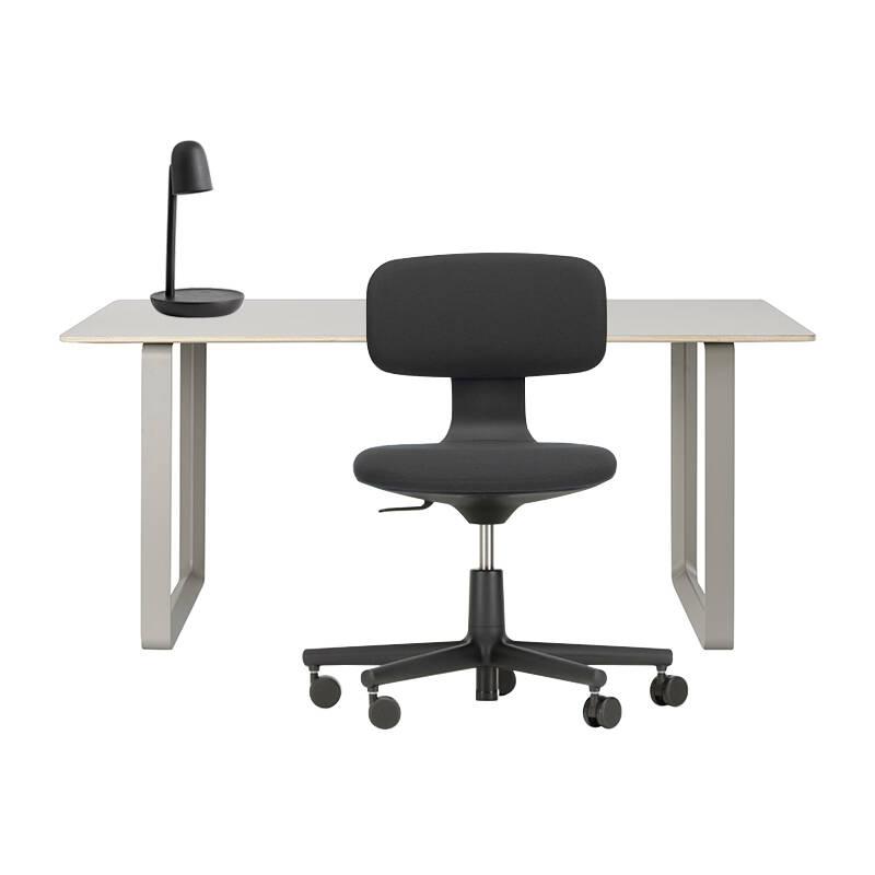 Pack Home Office  Pack bureau 70/70 - fauteuil ROOKIE - lampe FOCUS