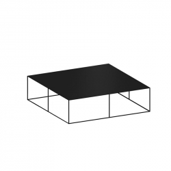 Table basse SLIM IRONY LOW TABLE ZEUS