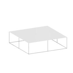 Table basse SLIM IRONY LOW TABLE ZEUS