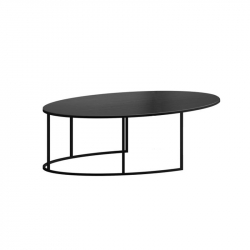Table basse SLIM IRONY OVAL ZEUS