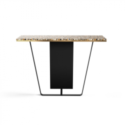 Table d'appoint guéridon Console HORIZON Large RED EDITION