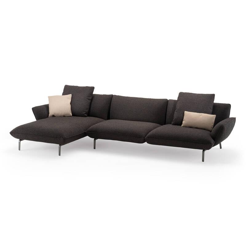 Canapé Zanotta DOVE L 345 avec chaise longue