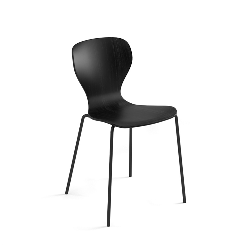 Chaise Viccarbe EARS pieds métal