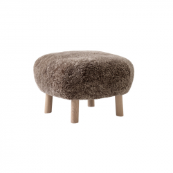 Pouf LITTLE PETRA ATD1 Sheepskin AND TRADITION