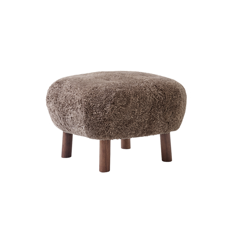 Pouf And tradition LITTLE PETRA ATD1 Sheepskin