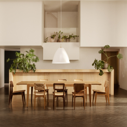 Table Gubi S-TABLE Extensible