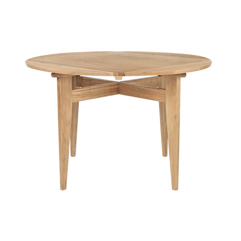 Table Gubi B-TABLE plateau extensible pivotant