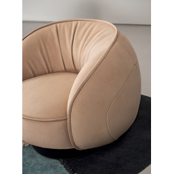 Fauteuil Baxter made in italy LEON
