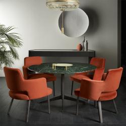 Table Gallotti & radice ZEN BLACK