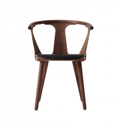 Petit Fauteuil IN BETWEEN SK2 assise cuir AND TRADITION