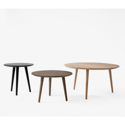 Table d'appoint guéridon And tradition IN BETWEEN SK13