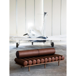 Canapé Tacchini FIVE TO NINE DAYBED avec dossier