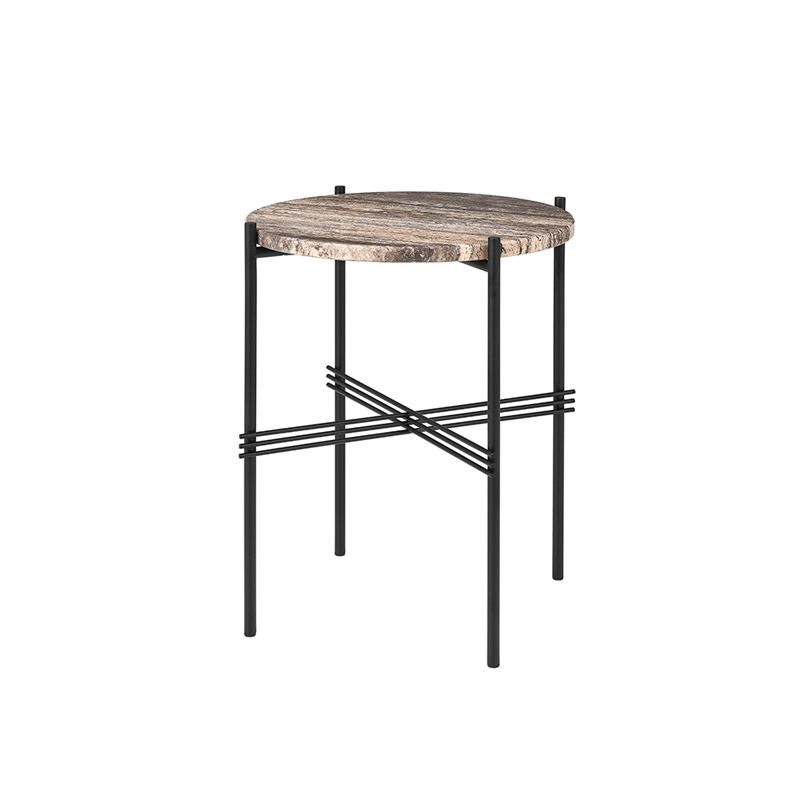 Table d'appoint guéridon Gubi TS SIDE Ø 40