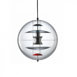 Suspension VP GLOBE Verre fumé VERPAN