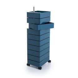Meuble de rangement 360° 10 tiroirs MAGIS