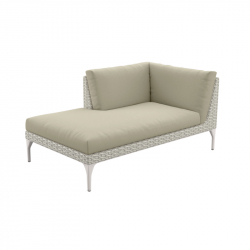 Canapé MU Daybed droite DEDON