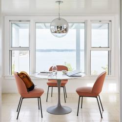 Table Knoll SAARINEN Marbre Ø 107