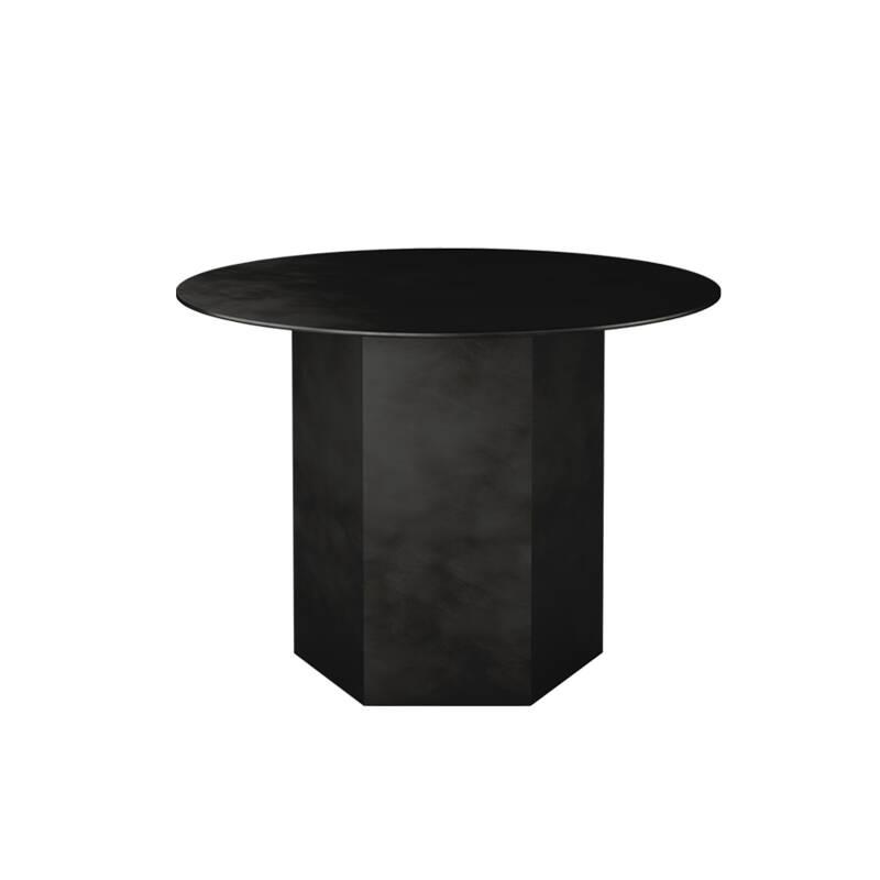 Table d'appoint guéridon Gubi EPIC STEEL Ø 60