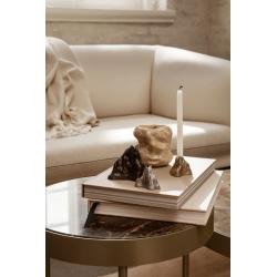 Table d'appoint guéridon Ferm living MARBLE Medium