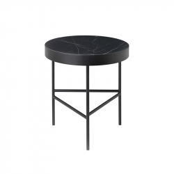 Table d'appoint guéridon MARBLE Medium FERM LIVING