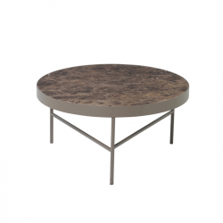 Table basse MARBLE Large FERM LIVING