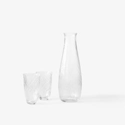Carafe & verre And tradition Verres COLLECT