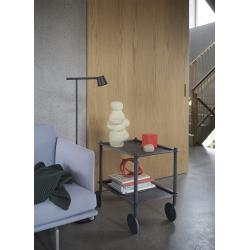 Table roulante Muuto FLOW TROLLEY 2 niveaux