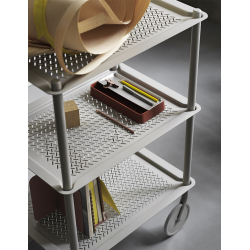 Table roulante Muuto FLOW TROLLEY 3 niveaux