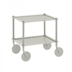 Table roulante FLOW TROLLEY 2 niveaux MUUTO