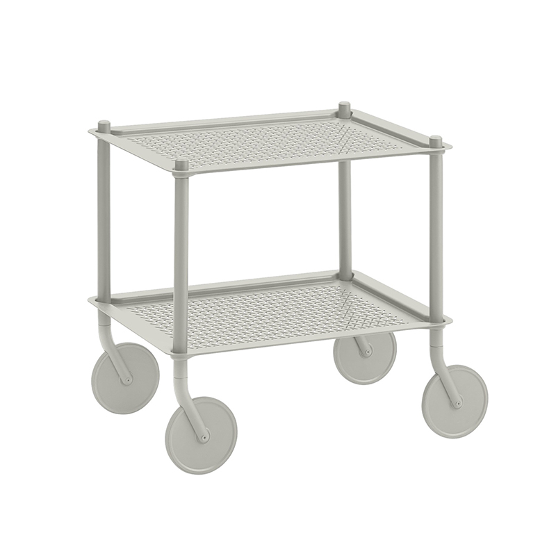 Table roulante Muuto FLOW TROLLEY 2 niveaux