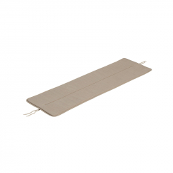 Accessoires outdoor COUSSIN D'ASSISE BANC LINEAR STEEL 110 CM MUUTO