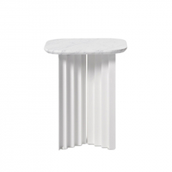 Table d'appoint guéridon PLEC small marbre RS BARCELONA