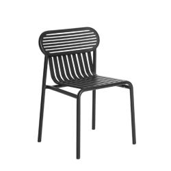 Chaise et petit fauteuil extérieur WEEK-END PETITE FRITURE