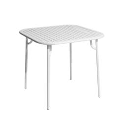 Table et table basse extérieur WEEK-END 85x85 PETITE FRITURE