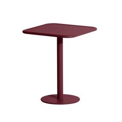Table et table basse extérieur WEEK-END carrée PETITE FRITURE