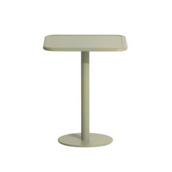 Table et table basse extérieur Petite friture WEEK-END carrée
