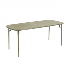 Table et table basse extérieur WEEK-END rectangulaire PETITE FRITURE