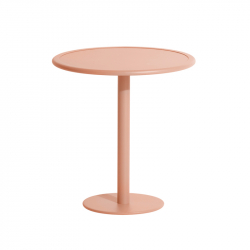 Table et table basse extérieur WEEK-END ronde PETITE FRITURE