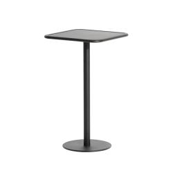 Table et table basse extérieur Mange-debout WEEK-END carré PETITE FRITURE