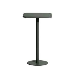 Table et table basse extérieur Petite friture Mange-debout WEEK-END carré