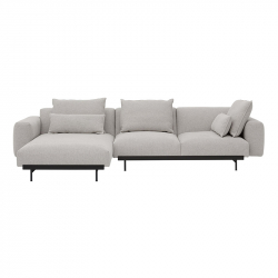 Canapé IN SITU 3 places avec chaise longue MUUTO