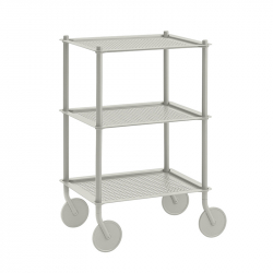 Table roulante FLOW TROLLEY 3 niveaux MUUTO