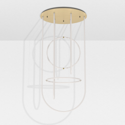 Suspension Petite friture UNSEEN chandelier