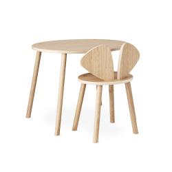 Table & bureau Chaise et table enfant MOUSE SCHOOL SET 6 à 10 ans NOFRED