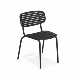 Chaise et petit fauteuil extérieur MOM EMU