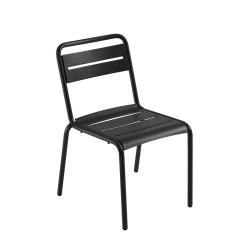 Chaise et petit fauteuil extérieur STAR EMU