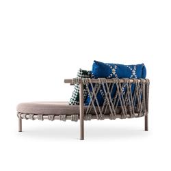 Canapé extérieur Cassina Love Bed TRAMPOLINE