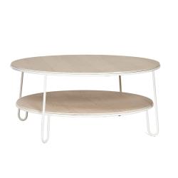 Table basse EUGENIE Ø90 HARTO