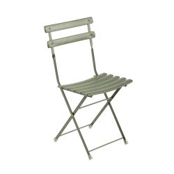 Chaise et petit fauteuil extérieur ARC EN CIEL EMU